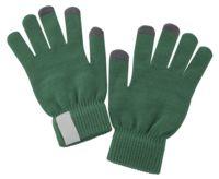 Сенсорные перчатки Scroll, зеленые